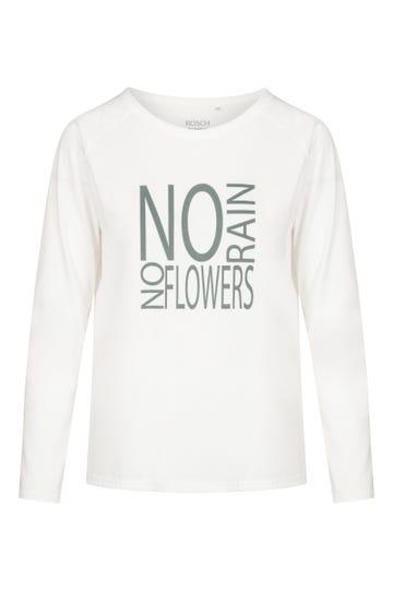 Langarmshirt mit Statementprint 100% Baumwolle