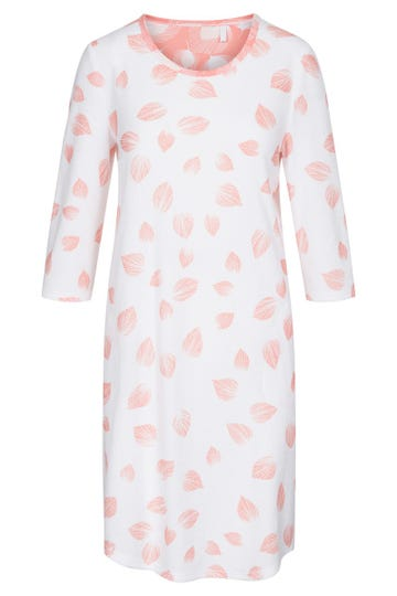 Frotteekleid im Blätterdruck grafisch Badekleid Baumwolle/Polyester 1213093