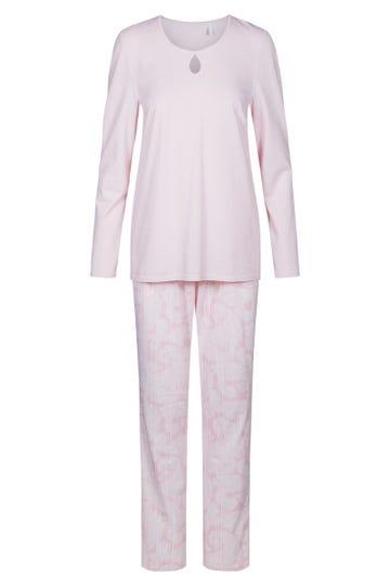 Pyjama mit Muster Paisley-Nadelzug romantisch 100% Baumwolle