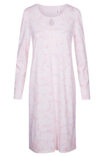 Bigshirt im Mustermix Paisley-Nadelzug romantisch 100% Baumwolle