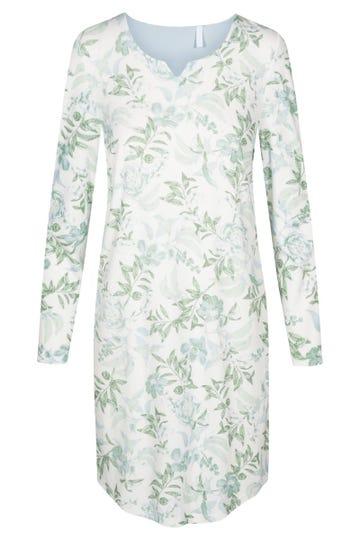 Bigshirt mit pastellfarbenem Blütenprint romantisch 100% Baumwolle