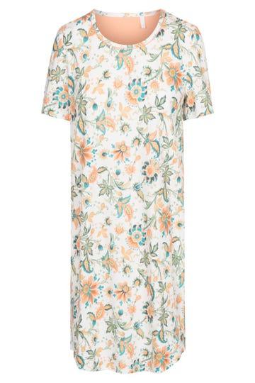 Bigshirt im Ornament-Druck floral verspielt 100% Baumwolle