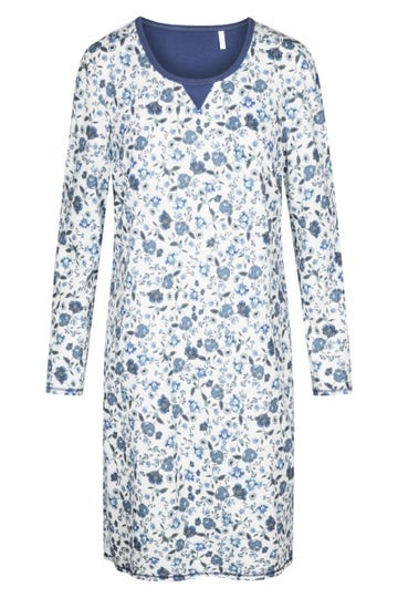 Bigshirt mit Blütendruck Liberty Flower romantisch 100% Baumwolle