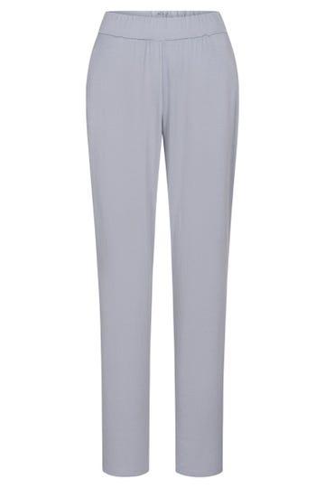 Basic Pyjamahose in Steingrau sportiv Baumwolle/Modal Mix und Match Große Größen bis 54