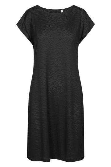 Strandkleid aus Animal-Strukturware Viskose/Polyamid/Elasthan 1215553