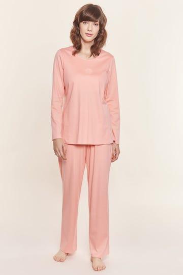 Pyjama mit Prägemotiv