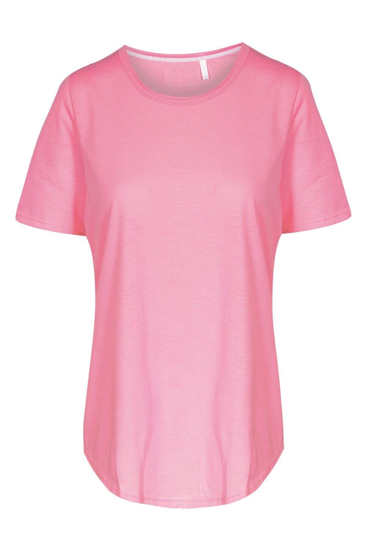 Smart Casual Basic T-Shirtc1652238
