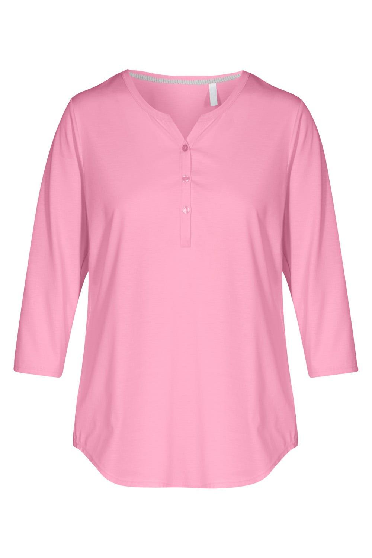 Smart Casual Basic Shirt mit 3/4-Ärmelnc1652246
