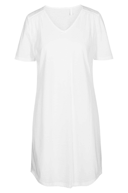 Bigshirt mit Spitzeneinsätzen - 11710 - 42